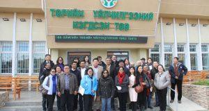 Төрийн нэгдсэн үйлчилгээний төвүүдийн үйл ажиллагаатай Ази тивийн 11 улсын зочид танилцав