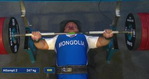 МУГТ Э.Содномпилжээ дэлхийн аварга болж, дээд амжилтаа шинэчиллээ